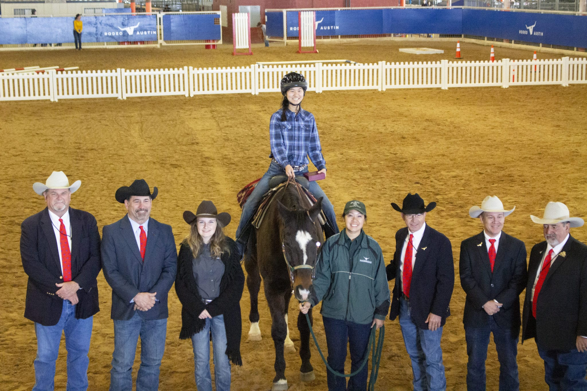 Marbridge Wins Big At The 10th Annual Gold Stirrup Horse Show